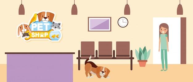 Mascota y veterinaria