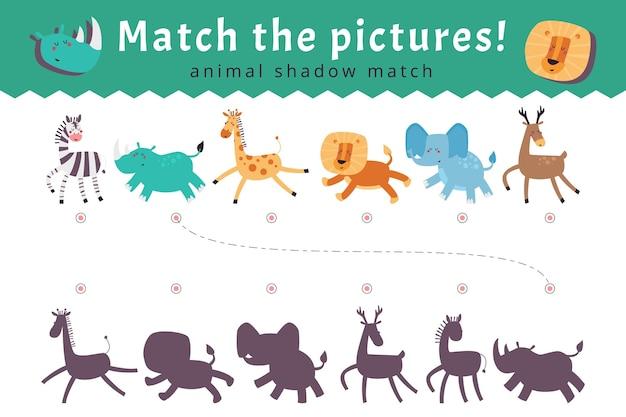 Match juego para niños