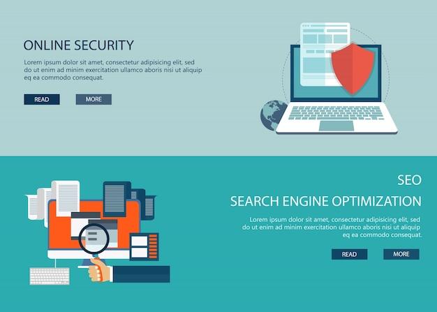 En materia de seguridad de línea y seo