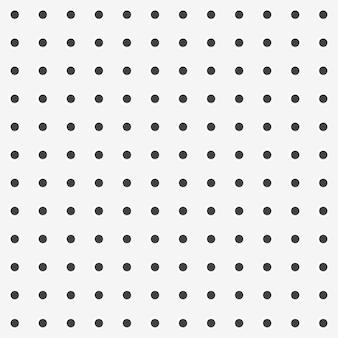 Material de fondo de textura perforada de tablero de clavija con tablero de patrones sin fisuras de agujeros redondos