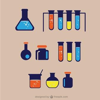 Material de laboratorio químico
