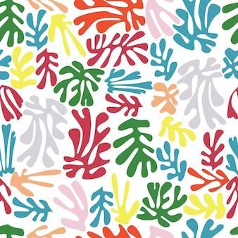 Matisse inspiró el patrón inconsútil de las formas