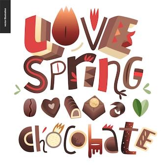 Me encanta el chocolate de primavera