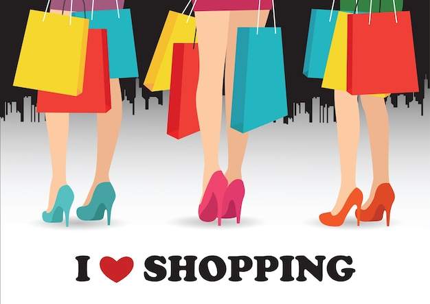 Me encanta ir de compras