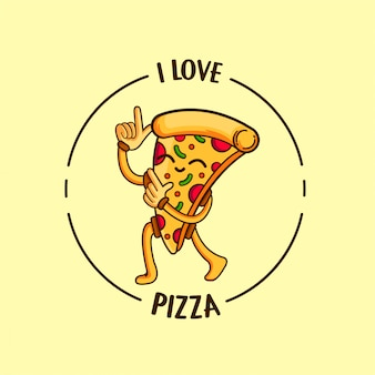 Me encanta la pizza