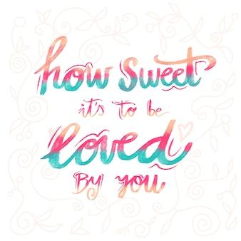 Me encantan tus letras de boda
