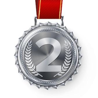 Medalla de plata, 2do lugar de plata