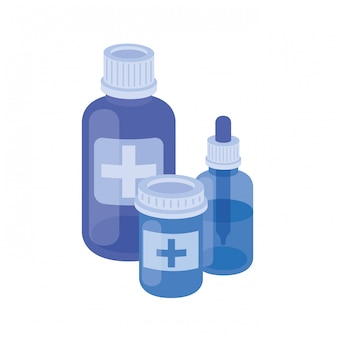 Medicamentos medicamentos en blanco
