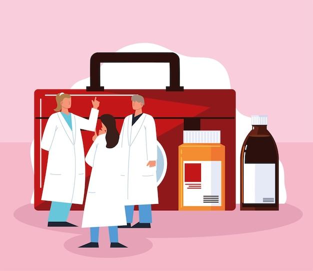 Medicamentos para el personal médico