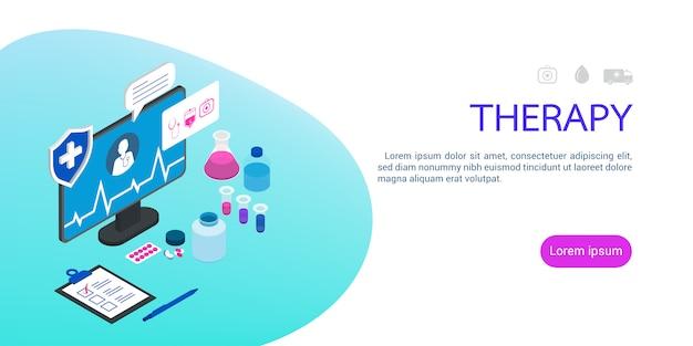 Medicina isométrica tecnología sanitaria.