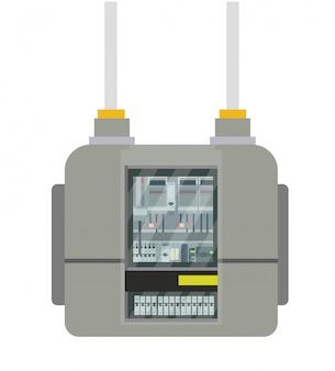 Medidor de electricidad