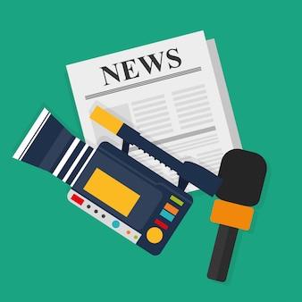 Medios de comunicación y difusión.