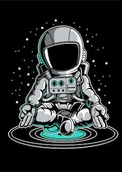 Meditación astronauta