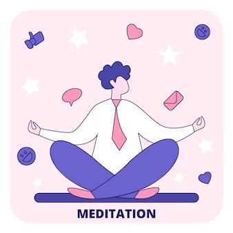 Meditación para una mente clara.