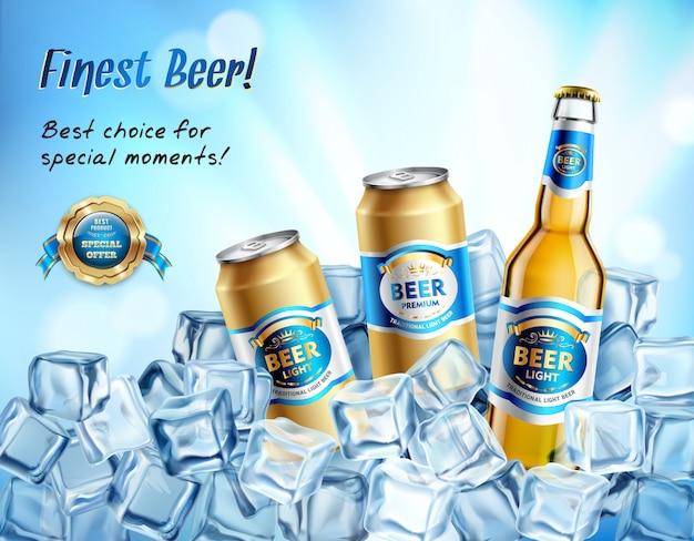 La mejor composición de cerveza