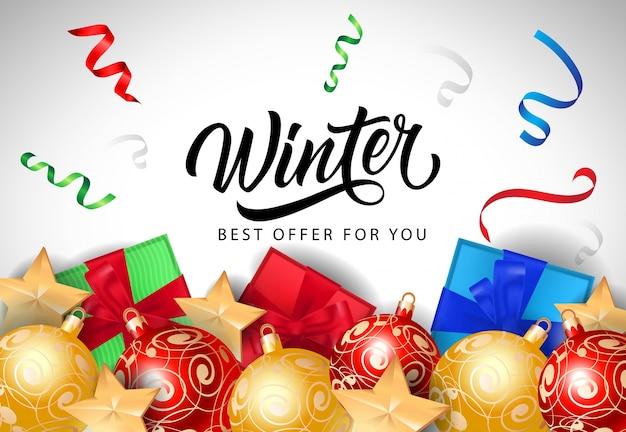 Mejor oferta de invierno letras