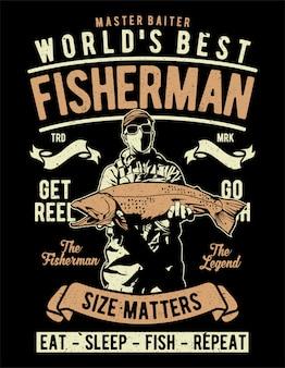 El mejor pescador del mundo