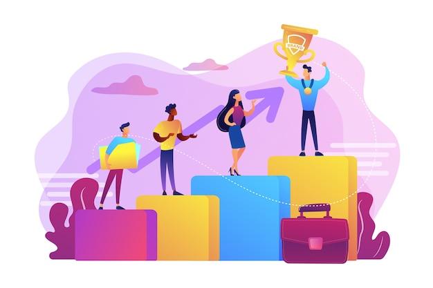 Mejor trabajador, especialista. patrocinio de eventos. victoria de los empleados. competencia de marca, evento competitivo de marketing, concursos organizados por concepto de marca.