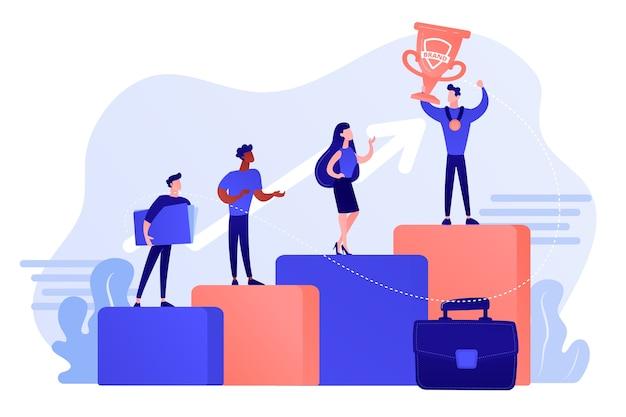 Mejor trabajador, especialista. patrocinio de eventos. victoria de los empleados