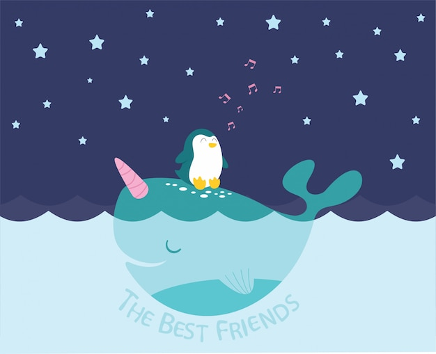 Mejores amigos mar