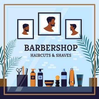 Los mejores cortes de pelo de peluquería y dibujos animados de afeitado.