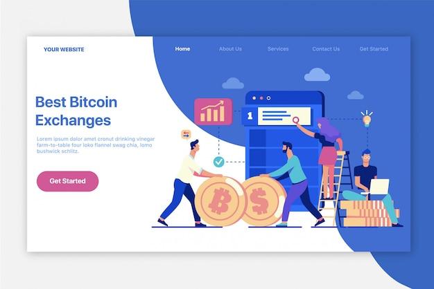 Los mejores intercambios de bitcoin