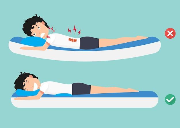Mejores y peores posiciones para dormir
