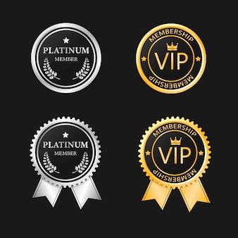 Membresía vip platinum y gold