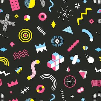 Memphis diseño de patrones sin fisuras