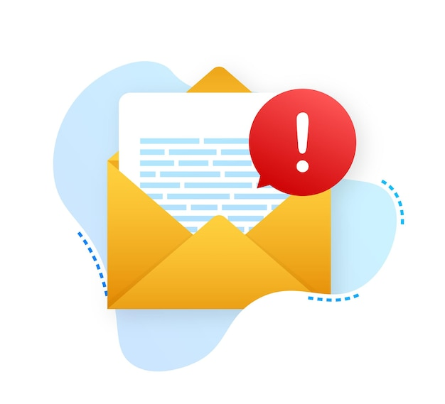 Mensaje de alerta notificación de computadora portátil advertencia de error de peligro problema de virus en la computadora portátil