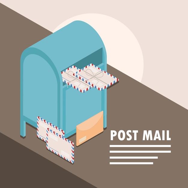 Mensajería postal