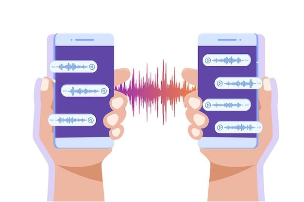 Mensajes de voz, notificación de eventos.