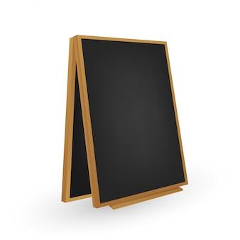 Menú black board. diferente vista.