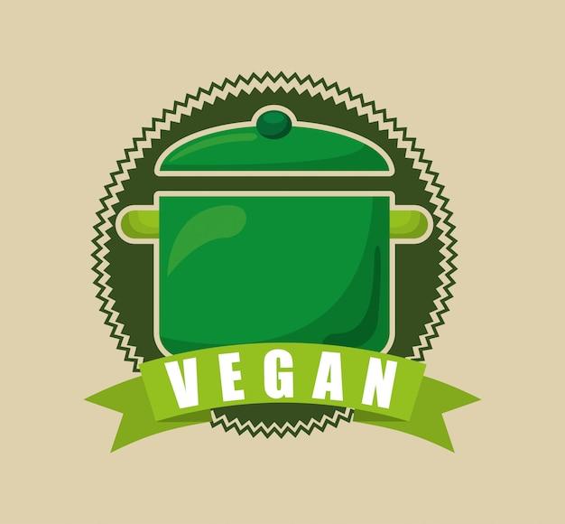 Menú de comida vegetariana