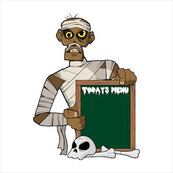Menú de hoy - versión momia