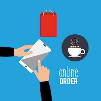 Menú de restaurante en línea
