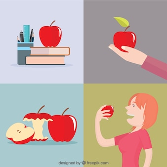 Merienda saludable