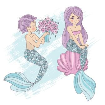 Mermaid lindo