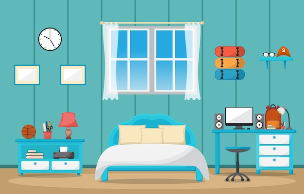 Mesa de estudio de los estudiantes mesa dormitorio interior muebles de sala