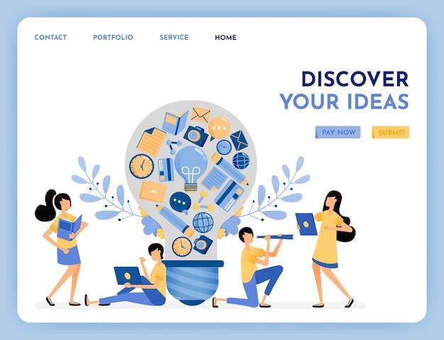 Metáfora de la idea de descubrimiento