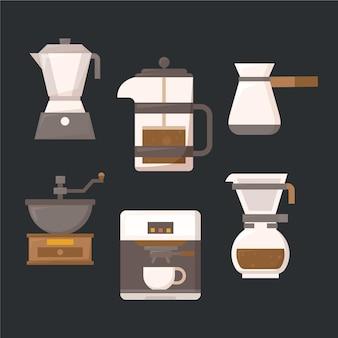 Métodos de preparación de café