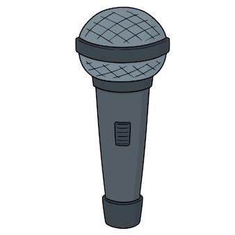 Micrófono de dibujos animados