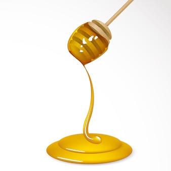Miel que fluye