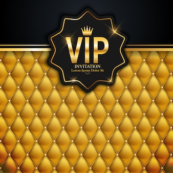 Miembros de lujo, tarjeta de regalo de invitación vip