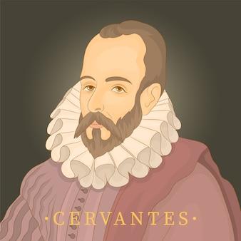 Miguel de cervantes. escritor español