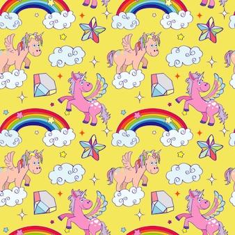 Milagro unicornio asistente de fondo transparente