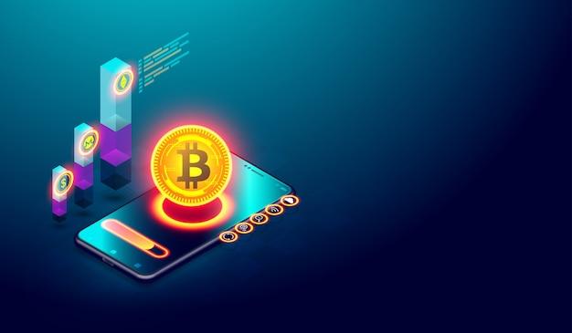 Minería de bitcoin e inversión en el mercado monetario digital.