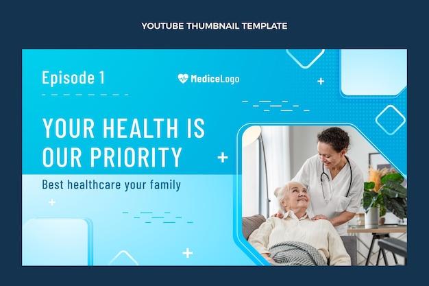Miniatura de gradiente médico de youtube
