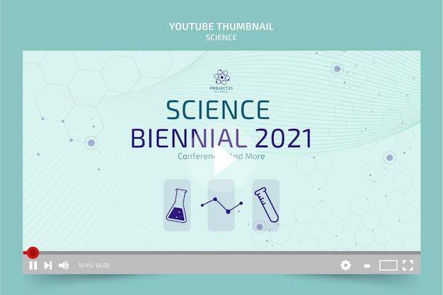 Miniatura de youtube de ciencia plana