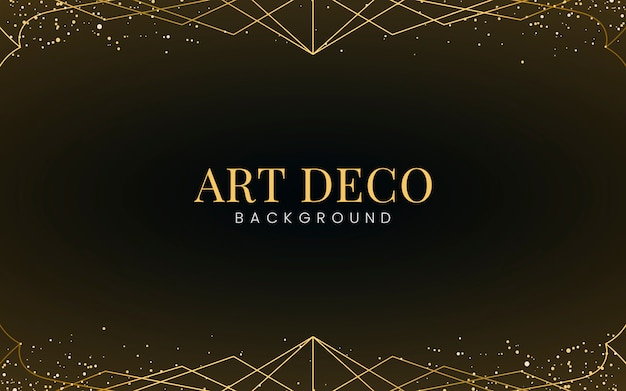 Minimal art deco papel pintado con brillo dorado decorativo.